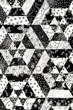 Black and White Quilt Patterns for Beginners | black-and-white-quilt-pattern-thumb14846370.jpg