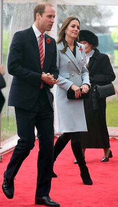 Hello!-Visit to Wales, November 8, 2014-Duke and Duchess of Cambridge visited the Valero Refinery in Pembroke