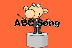 Liedje met het Engelse alfabet.