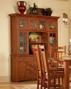 Mastercraft Collections Prairie Mission Hutch and Buffet - 9818-HB