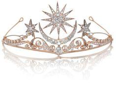Diamond tiara/brooch/ring combination, circa 1900