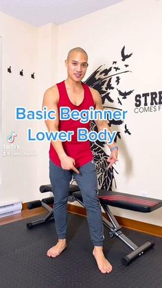 Fitness Workouts, Gym Workout Tips, Fitness Workout For Women, Workout Videos, Fitness Motivation, Wall Workout, Leg Workout At Home, At Home Workouts, Easy Workouts For Beginners