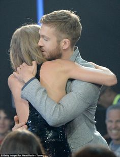 Taylor Swift gushes over Calvin Harris while accepting award at  2016 iHeartRadio Music Awards | Daily Mail Online