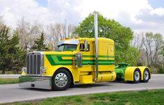 Weitere Infos und Reportagen für Berufskraftfahrer auf  http://www.bkftv.de Big Yellow  Green Pete