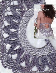 TRICO y CROCHET-madona-mía: Blusas de verano a crochet (ganchillo) de verano con patrones