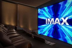 IMAX Private Theater - your own personal IMAX screening room.