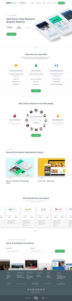 Web design   build sercive page