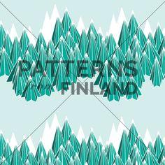 Landscape – Peak by Ilana Vähätupa   #patternsfromagency #patternsfromfinland #pattern #patterndesign #surfacedesign #printdesign #ilanavahatupa