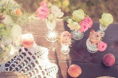 Inspiration For A Vintage Chic Wedding- lovely <3