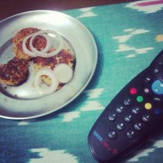 Home. Kababs and Remote. Priceless