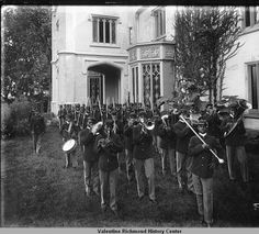 St. Emma Trade School, Belmead, Virginia - Marching Band - Date Unknown :: VCU Through the Lens of Time