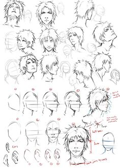 Drawing faces at an angle by moni158 on DeviantArt