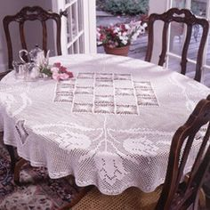 Spring Tulips Tablecloth