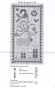 Gallery.ru / Фото #157 - Для зимы - gada Xmas Cross Stitch, Cross Stitch Christmas Ornaments, Cross Stitch Needles, Cross Stitch Samplers, Christmas Embroidery, Christmas Cross, Cross Stitch Charts, Cross Stitch Designs, Cross Stitching