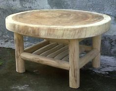 Great project to collect wood for. Rustic Log Furniture, Twig Furniture, Handmade Furniture, Woodworking Projects Diy, Woodworking Furniture, Wood Projects, Rustic Coffee Tables, Coffee Table Design, Wooden Art