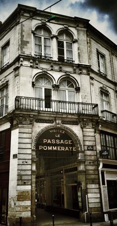 Passage Pommeraye à Nantes. © Copyright Yves Philippe