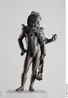 Statuette of Herakles, BCE - Sikeliote (Sicilian Greek). Greek Artifacts, Ancient Artifacts, Ancient History, Art History, Goddess Of Grain, Ancient Greek Sculpture, Roman Gods, Ghost In The Machine, Greek Gods And Goddesses