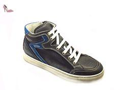 Nero Giardini Junior , Baskets pour garçon bleu bleu - bleu - INDIOS BLU, 35 EU EU