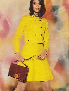 Yellow 1960's Fashion