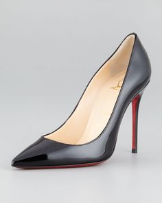 Christian Louboutin pointy heels, paired with skinny jeans or a cocktail dress