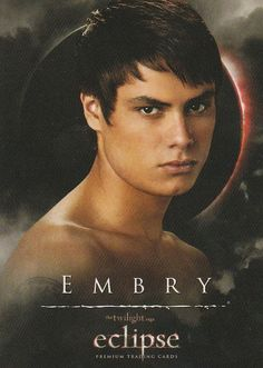 Twilight saga Eclipse trading card Embry, 21