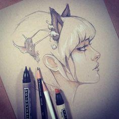 New sketch by Glenn Arthur