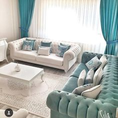 [New] The 10 Best Home Decor (with Pictures) - We produce all kinds of furniture. We work with the highest quality off materials for all our product. Call us to place your oder today. Living Room Turquoise, Living Room Decor Colors, Home Decor Furniture, Home Decor Bedroom, Bedroom Bed, Home Room Design, Living Room Designs, Drawing Room Furniture, Bedroom Layouts