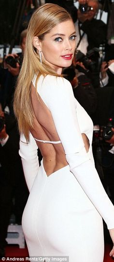 Doutzen Kroes at Cannes Film Festival