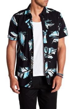 Image of Volcom Resin Leaf Shirt
