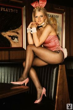Bunny Anna Britter was a Bunny at the London Playboy Club!