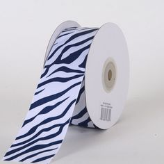 Animal Printed Grosgrain Ribbon in Navy Color- 1-1/2 INCH X 25  Buy Animal printed beautiful grosgrain ribbons in new shades and sizes at Wholesaleribbons.us. They offer grosgrain ribbons in navy color (1-1/2 INCH X 25) at Sale Price: $10.67.