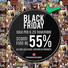 Start #BlackFriday #AnselmiAziendaAgricola su #Foodscovery al 50% L'alta qualità costa la metà! https://www.foodscovery.it/seller/anselmi-azienda-agricola_9246.html