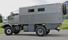 Offroad motor home on a Mercedes chassis - ATACAMA 5140