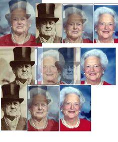 Barbara Bush is Aleister Crowley's daughter. Research Pauline Pierce