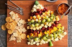 12 'Christmas in July' Party Ideas We Stole from Pinterest - Christmas Tree Cheese Board