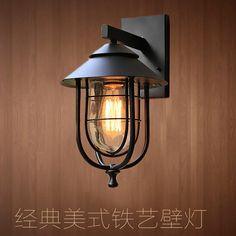 Alibaba グループ | AliExpress.comの 壁ランプ からの アメリカンビンテージ壁ランプ、 室内ノルディックロフトベッドサイドランプ防水照明バルコニー廊下通路用壁ライト古典的なレトロなロフト野生のアメリカ鉄かご壁ランプ、 防水屋外、 屋内と美しい!! ユニークなシームレス溶接技術、 軽アルミボディと 中の アメリカ の ヴィンテージロフト北欧壁ランプ屋内防水照明ベッド サイド ランプ ウォール ライト用バルコニー廊下通路