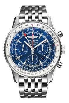 Breitling Navitimer GMT Limited Edition Mens Watch AB04411A-C937-453A @majordor #majordor #breitlingwatches #breitlingnavitimerworld #chronograph #luxurywatches   www.majordor.com
