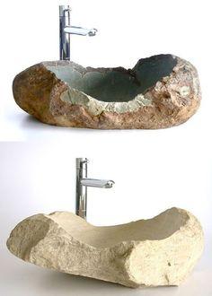 18 Cool Natural Stone Sinks Design Ideas | http://www.designrulz.com/design/2015/10/18-cool-natural-stone-sinks-design-ideas/