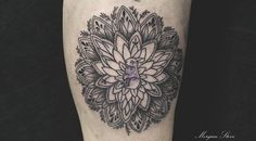 Mandala. New tattoo By Morgan Steve, Presso @Mocry Skin Studio