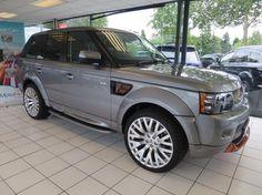 "2013 Land Rover Range Rover Sport 3.0 SDV6 HSE Black Edition With Kahn Body kit And 22"" RS600 Kahn Alloys 5dr Digital TV / Sat Nav Diesel WIMBLEDON - Top Marques"
