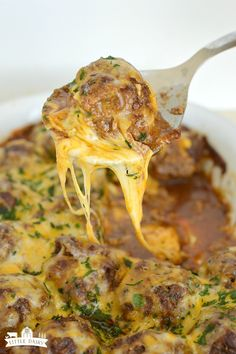 Cheesy Mexican Meatballs are a little spicy, a lot cheesy, and one of those meals that the whole family goes crazy for!