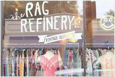 Signage for vintage shop, Ohio City.