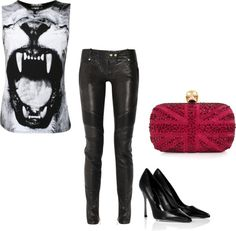 """""""fierce punk"""" by cocochristelle on Polyvore"""