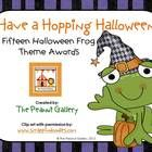 $2.50 Your classroom will be hopping this October when you hand out these Halloween awards with a frog theme!