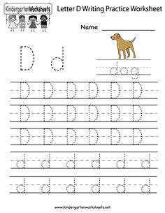 math worksheet : kindergarten letter b writing practice worksheet printable  : Kindergarten Letter Writing Worksheets
