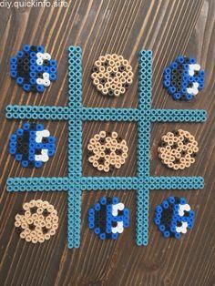Cookie Monster Sesame Street Tic Tac Toe Spiel Hama Perlen Source by Easy Perler Bead Patterns, Melty Bead Patterns, Perler Bead Templates, Diy Perler Beads, Perler Bead Art, Beading Patterns, Embroidery Patterns, Quilt Patterns, Art Patterns