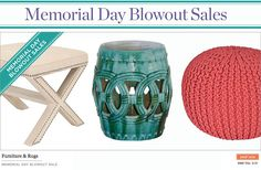 One Kings Lane Memorial Day sale - through Thursday, 5/31