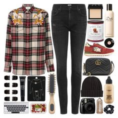 """""""Hope your dream only shows you the things you can hold on to"""" by pure-and-valuable ❤ liked on Polyvore featuring Citizens of Humanity, Gucci, Atlantic Stars, Williams-Sonoma, MAC Cosmetics, Forever 21, MAKE UP FOR EVER, Topshop, NARS Cosmetics and Dolce&Gabbana"""