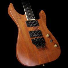 Jackson Custom Shop Exclusive SL2H-V Soloist Natural Series Electric Guitar Mahogany Natural Oil