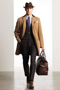 MadMan look #RalphLauren #FallWinter2010 #FW10 #Menswear #MenStyle #Fashion #Aim2Win